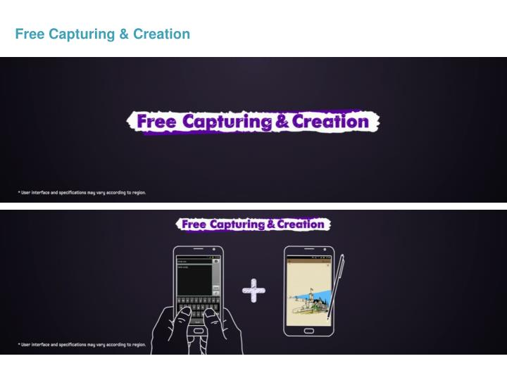 Free Capturing & Creation