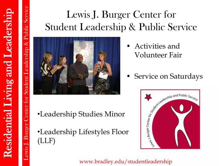 Lewis J. Burger Center for