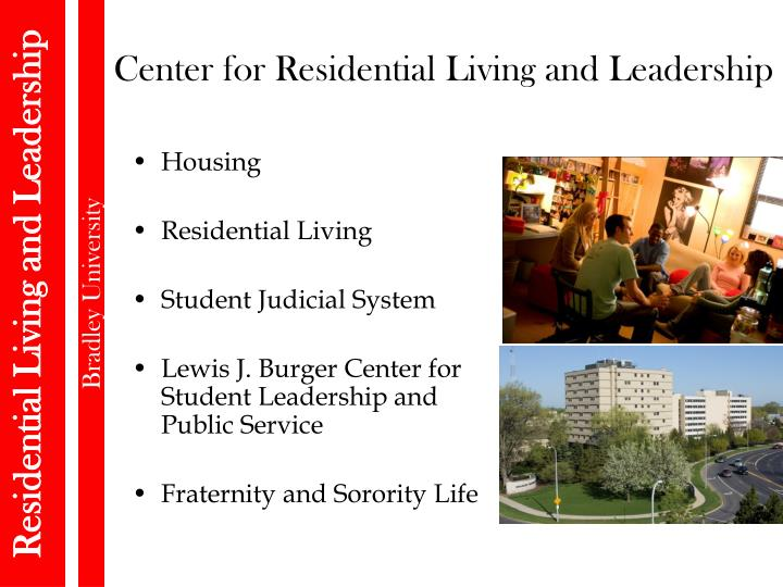 Center for Residential Living and Leadership