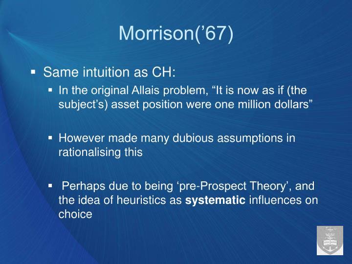 Morrison('67)