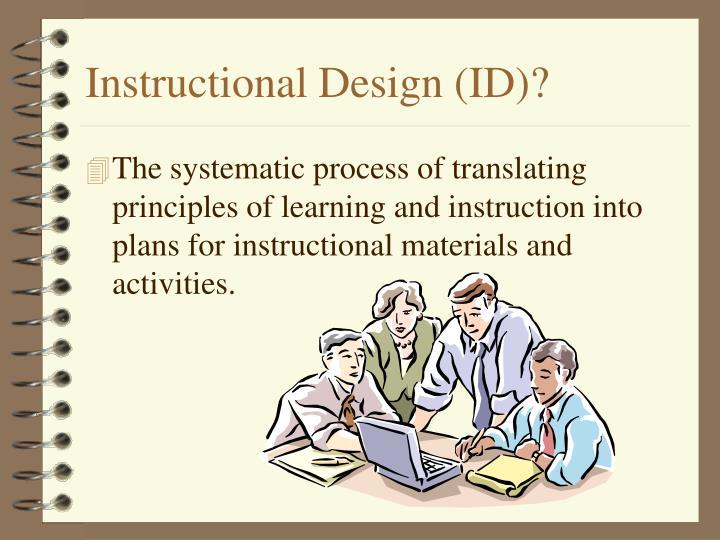 Instructional Design (ID)