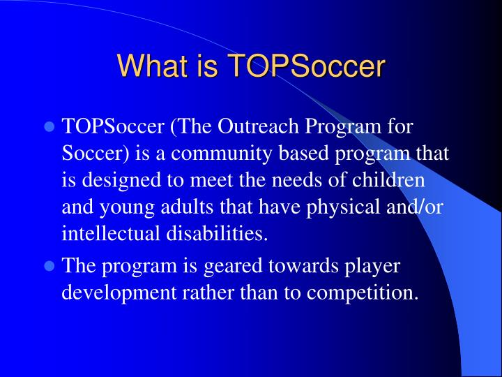 What is topsoccer