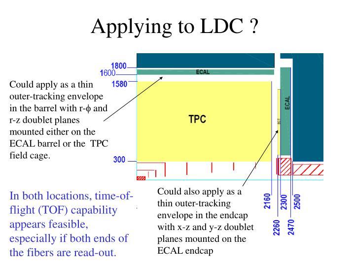 Applying to LDC ?