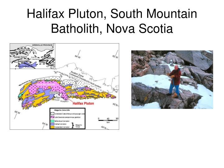 Halifax Pluton, South Mountain Batholith, Nova Scotia