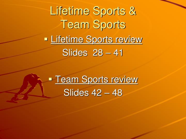 Lifetime Sports &