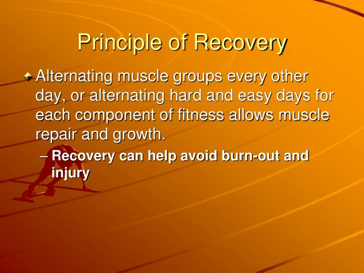 Principle of Recovery