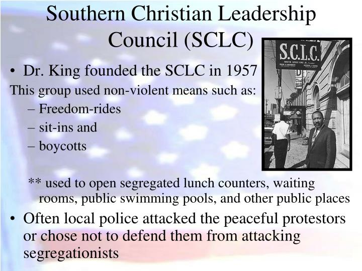 Southern Christian Leadership Council (SCLC)