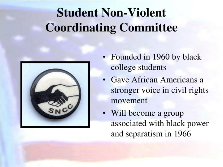 Founded in 1960 by black college students