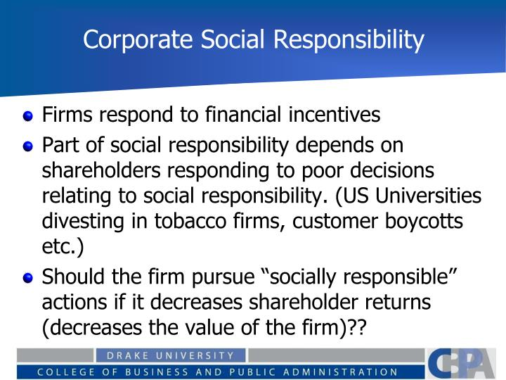 corporate social responsibility a value adding Corporate social responsibility (csr)1 has become a hot topic in boardrooms across the world changes in corporate value systems are being driven by pressures from different actors, including governments, consumers, non-governmental organizations (ngos) and institutional investors (diagram 1.