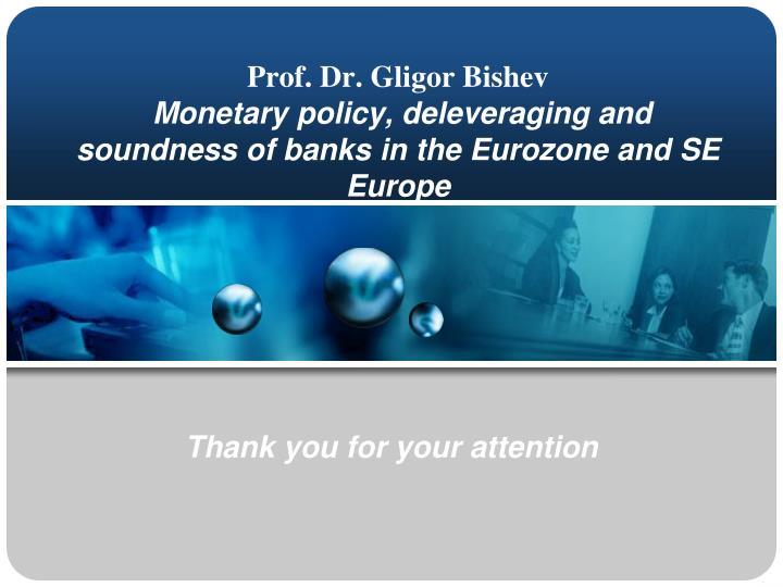 Prof. Dr. Gligor Bishev