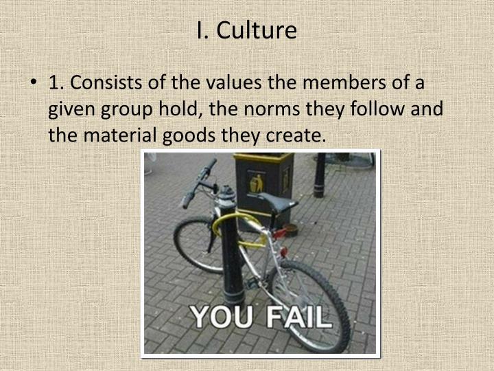 I. Culture