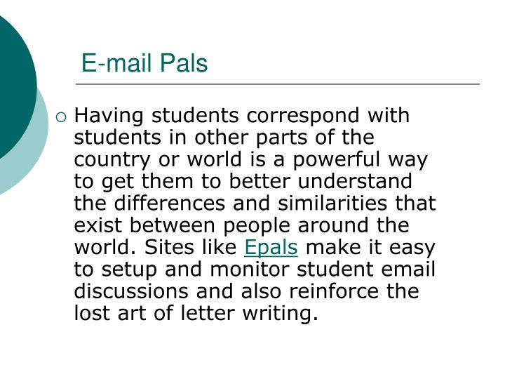 E-mail Pals