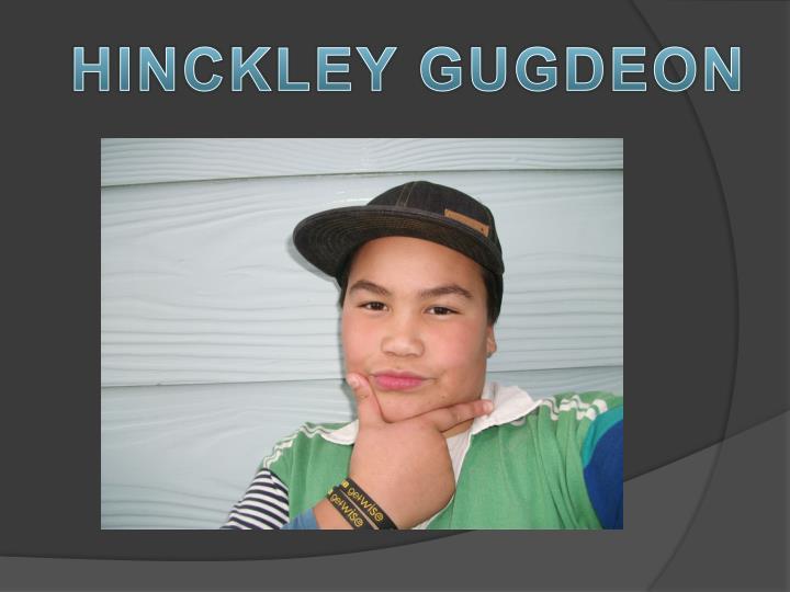 HINCKLEY GUGDEON