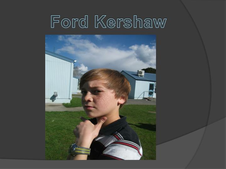 Ford Kershaw