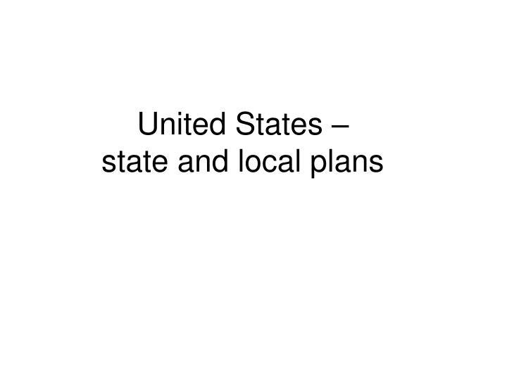 United States –