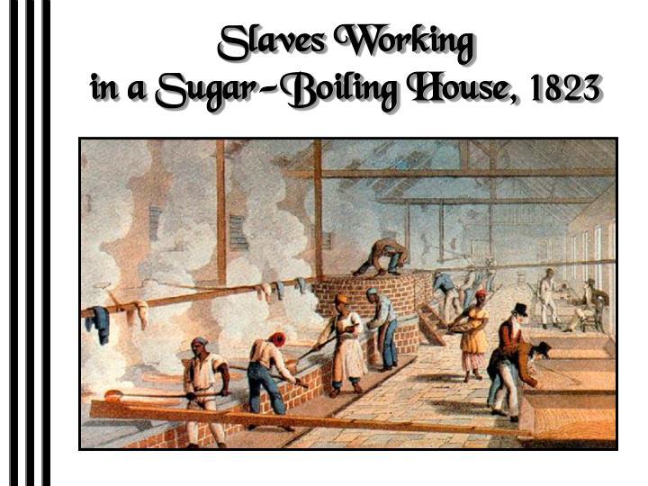 Slaves Working