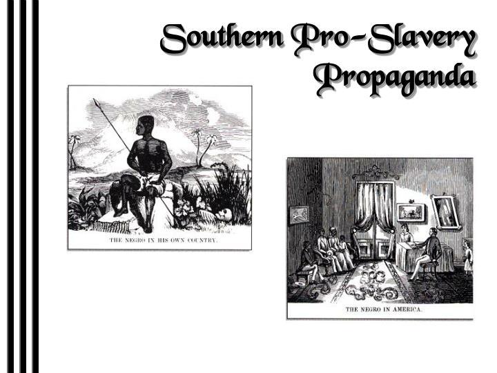 Southern Pro-Slavery