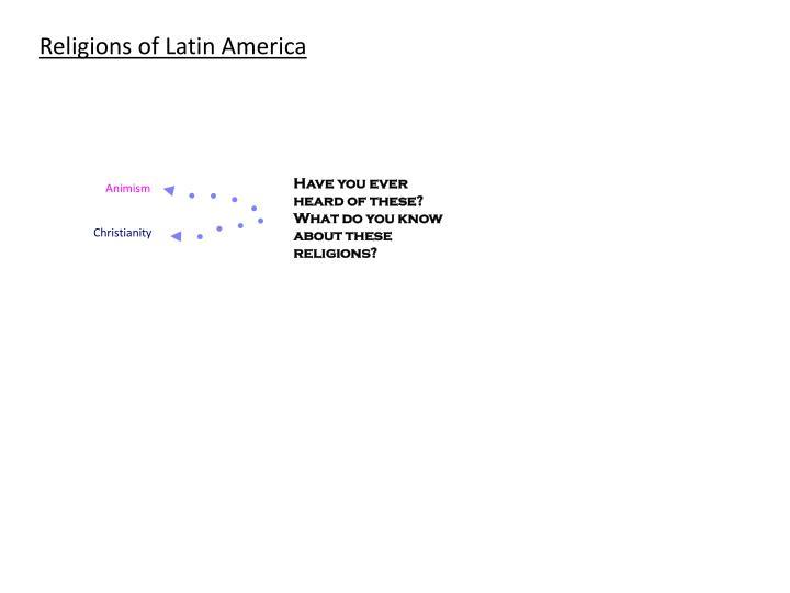 Religions of Latin America