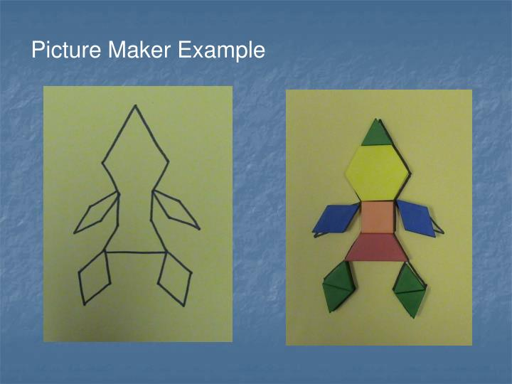 Picture Maker Example