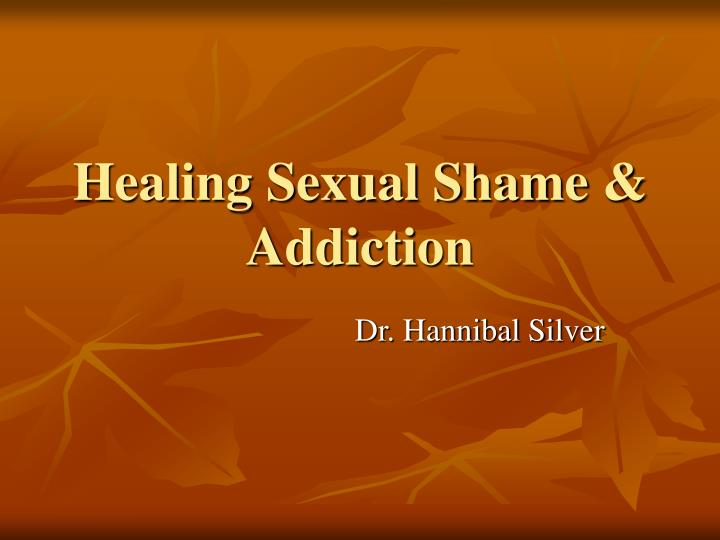 healing sexual shame addiction