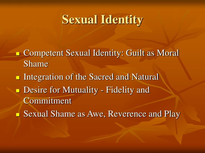 Sexual Identity