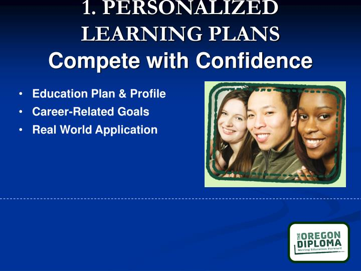 1. PERSONALIZED LEARNING PLANS