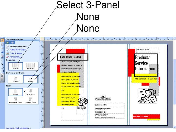 Select 3-Panel