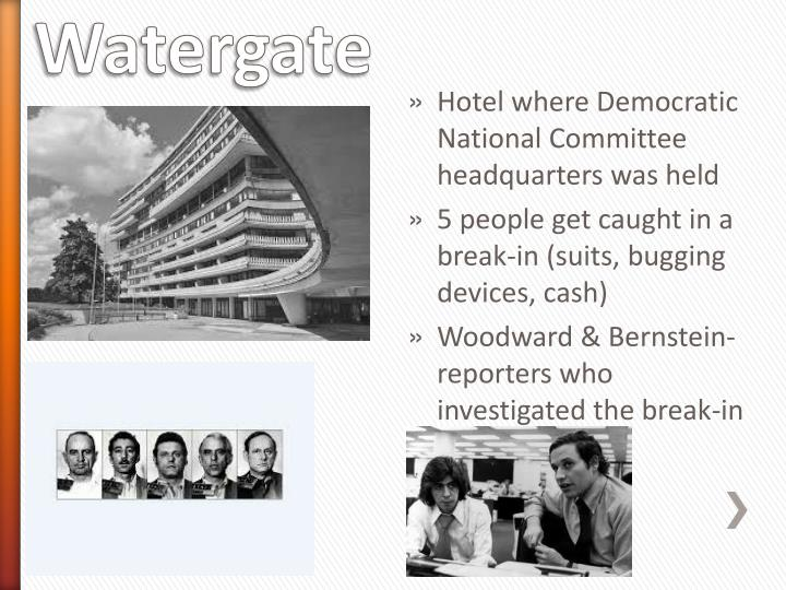 Hotel where Democratic National Committee headquarters was held