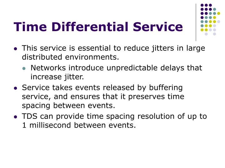 Time Differential Service