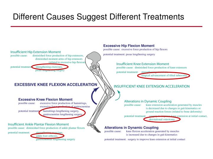 Different Causes Suggest Different Treatments