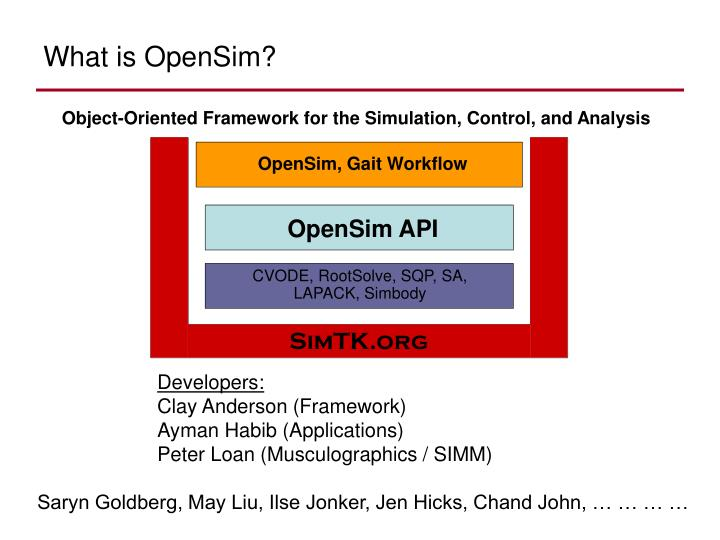 What is opensim