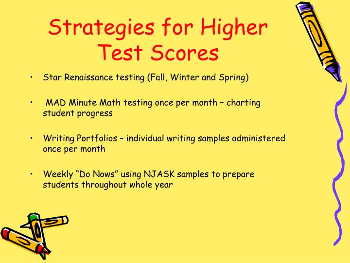 Strategies for Higher Test Scores