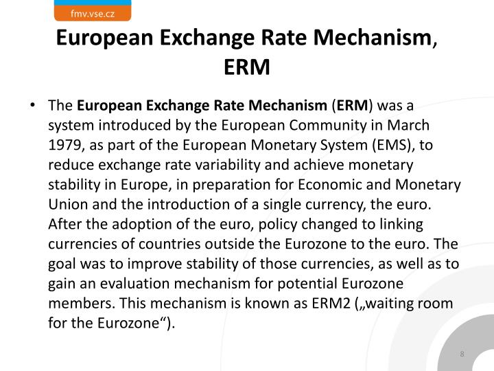 European Exchange Rate Mechanism