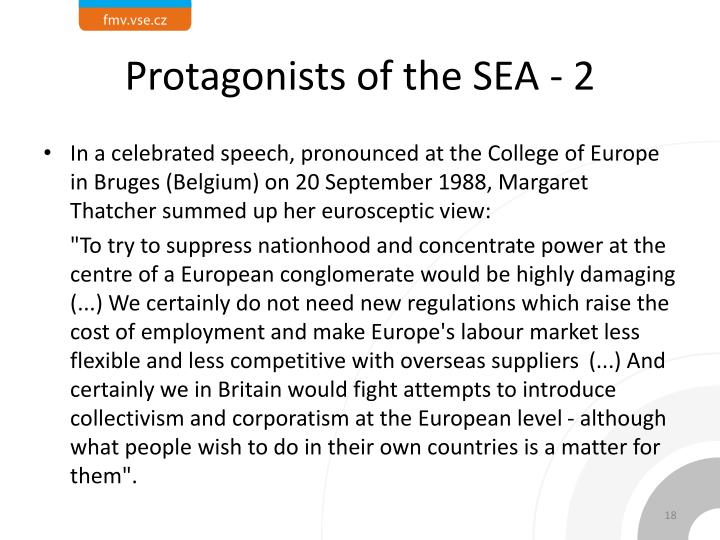 Protagonists of the SEA - 2