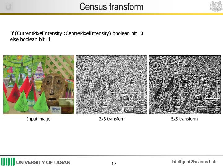 Census transform