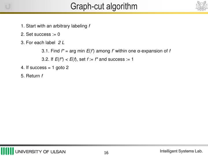 Graph-cut algorithm
