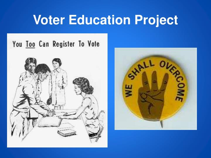 southwest voter registration education project The william c velasquez institute (wcvi) is a tax-exempt non-profit, non-partisan organization chartered in 1985 the purpose of wcvi is to conduct research aimed at improving the level of political and economic participation in latino and other underrepresented communities.