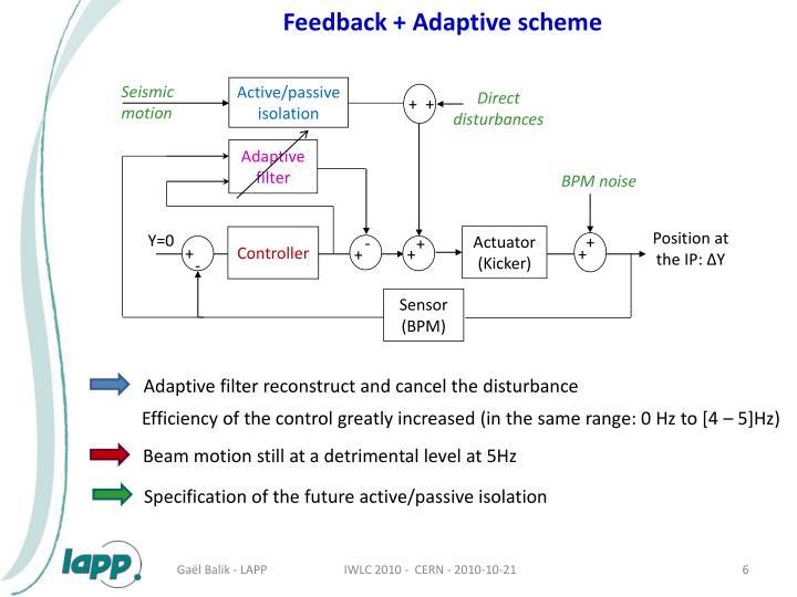 Feedback + Adaptive scheme