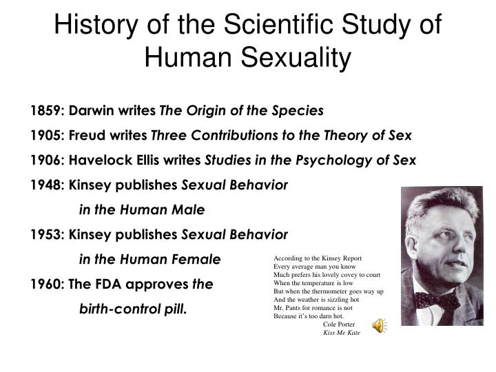 History of the Scientific Study