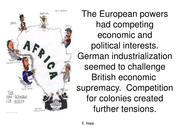 The European powers