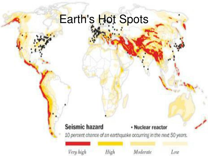 Earth's Hot Spots