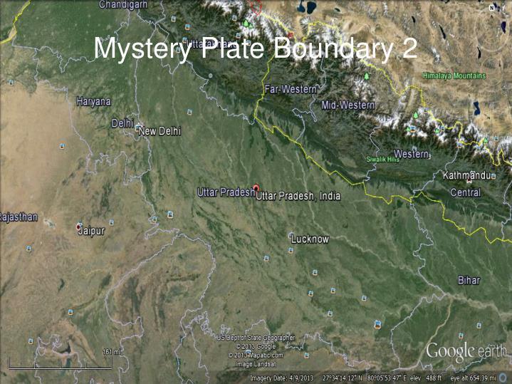Mystery Plate Boundary 2