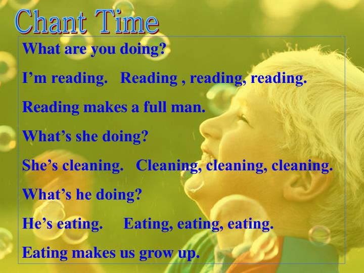 Chant Time