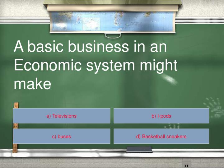 A basic business in an