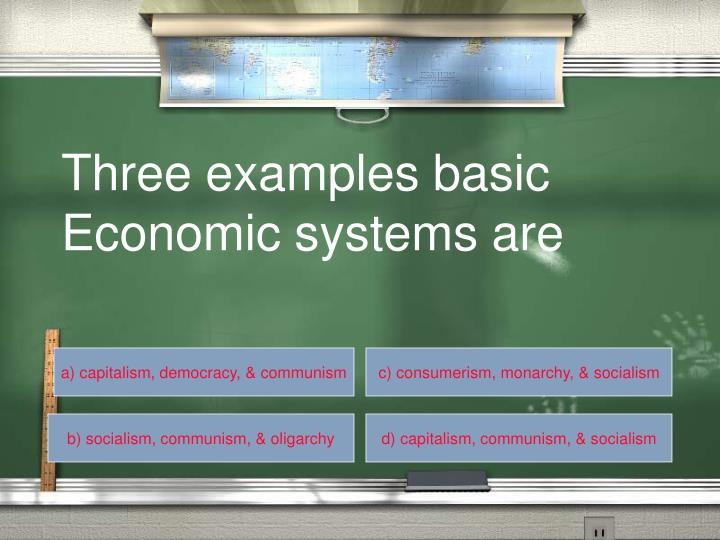 Three examples basic