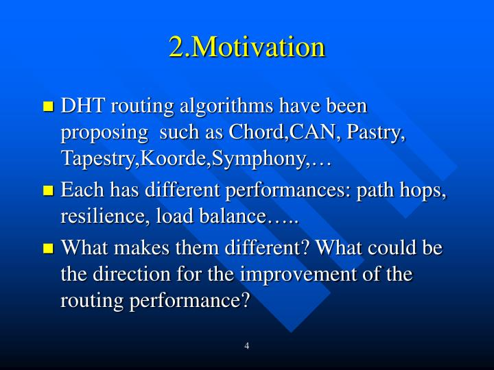 2.Motivation