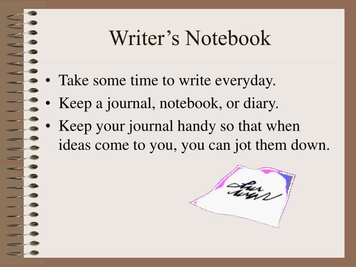 Writer's Notebook