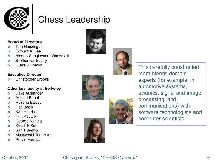 Chess Leadership