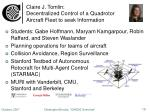 claire j tomlin decentralized control of a quadrotor aircraft fleet to seek information