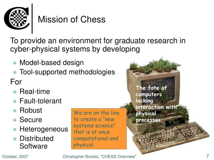 Mission of Chess